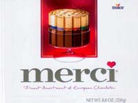 Merci Chocolate assortment