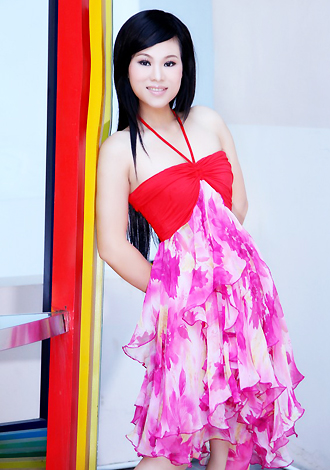 Asian bride Lini from Nanning