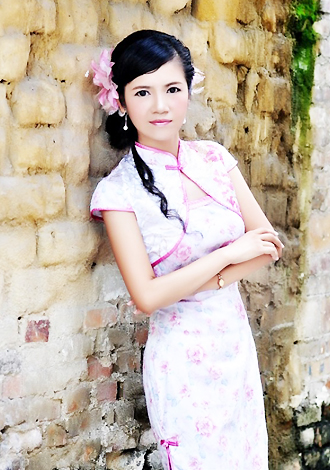 Asian bride Anna from YuLin