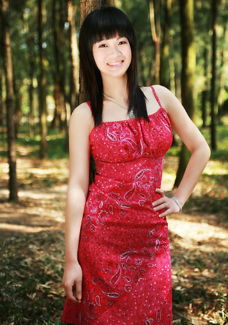 Asian bride Xiaowen from Beihai