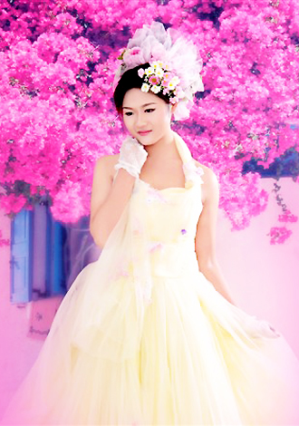 Asian bride Sihao from Guilin
