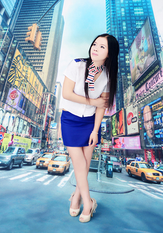Single girl Yufen 35 years old