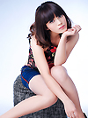Asian single woman Jiao (Viki) from Zhanjiang, China