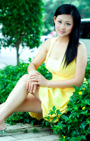 Asian bride Ziqi from Beihai