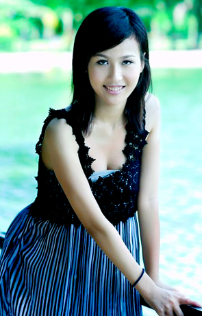 Asian bride Yi from Beihai