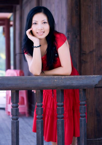 Asian bride Li from Nanning