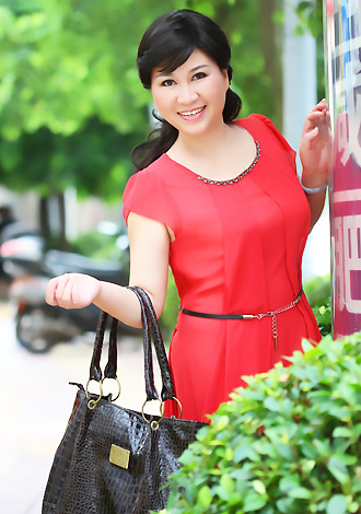 Single girl JinYan 52 years old
