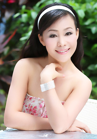 Asian bride Mei from Nanning