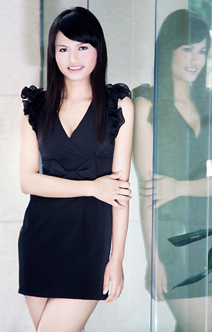 Asian bride LingCen from Nanning