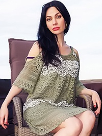 Single Elena from Novoorzhitskoe, Ukraine