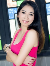 Asian woman Jingwen from