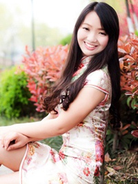 Asian woman Mengjuan from wuhan, China