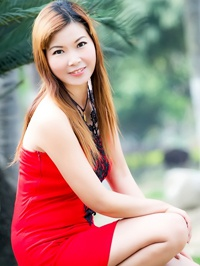 Asian woman Hua from