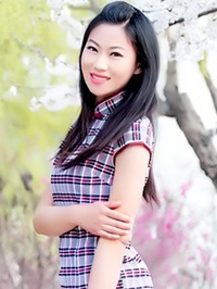Asian woman Shaoqing from