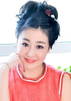 Asian lady Qi (Emily) from Fushun, China, ID 40955