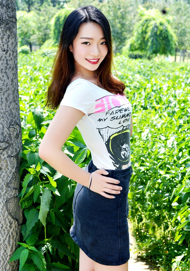 Single girl Aixin (Miriam) 24 years old