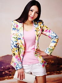 Single Xiaowen (Alina) from Zhengzhou, China