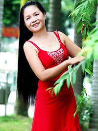 Asian woman Jian (Juan) from Yulin, China