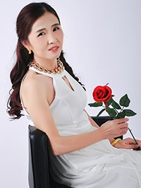 Asian woman Jiqing Zhou from Changsha, China