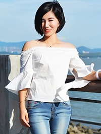 Asian woman Guofang (Grace) from Shenzhen, China