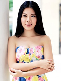 Asian Bride Ziqian (Shaly) from Zhuhai, China
