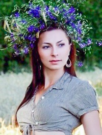 Russian woman Viktoriia from Uman, Ukraine