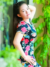 Asian woman Tran from hunan, China
