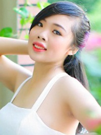 Asian lady Bui from Shanghai, China, ID 45024