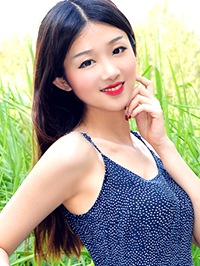 Asian woman Wanqing from Huludao, China