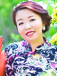 Asian woman Li from Fushun, China