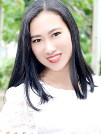 Asian woman Qing (Xenia) from Shenyang, China