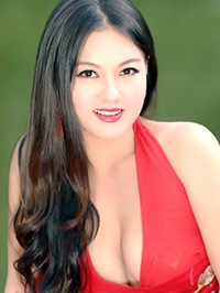 Asian woman Qiao from Changsha, China