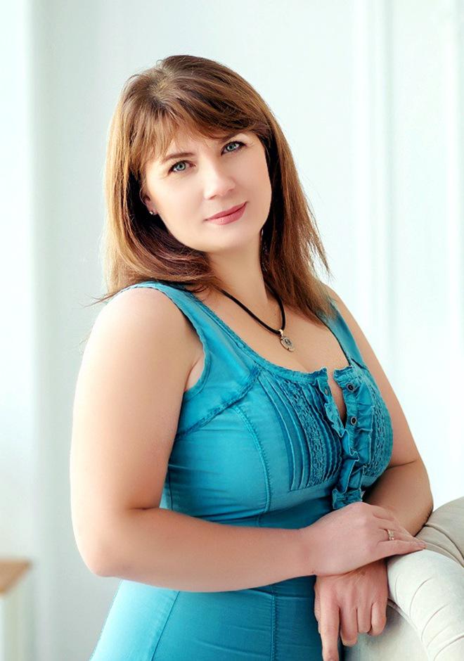 Id 47475 Pretty Ukrainian Lady Iona From Altynovka 47 Yo Hair
