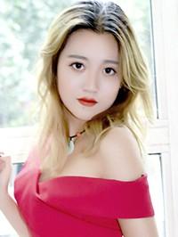 Asian woman Mengtong from Jinzhou, China