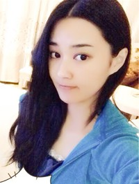 Asian woman Qian from Xinxiang, China