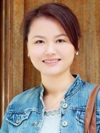 Asian lady Wei (Vivi) from Zhuhai, China, ID 48388