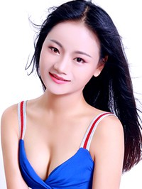 Asian woman Qian from Changsha, China