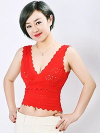 Asian woman Zhenxin from Harbin, China