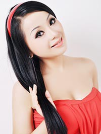 Asian woman Jialin from Hengyang, China