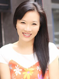 Asian woman Yongqing from Wuhan, China
