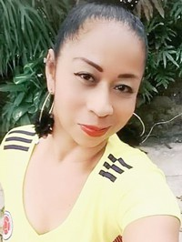 Latin woman Victoria Eugenia from Jamundi, Colombia